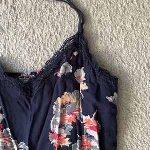 Aerie floral lace slip dress
